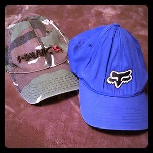 HAWK and FOX boys hats